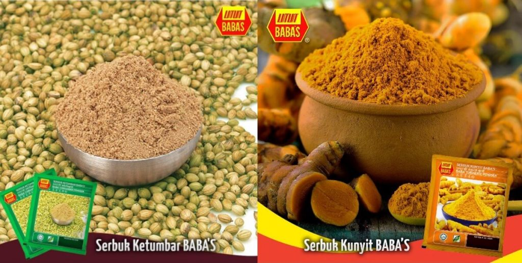 Jiran BABA S imported spices